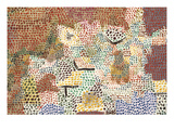 Just Like a Garden Run Wild; Wie Ein Verwilderter Garten Affiches par Paul Klee