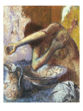 Woman at Her Toilette; Femme a Sa Toilette Reproduction proc&#233;d&#233; gicl&#233;e par Edgar Degas