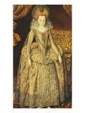 Portrait of Queen Elizabeth of Bohemia Giclee Print by Robert Peake