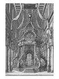 The Funerals of Fernando Ii and Cosimo Iii; Esequie Del Serenissimo Fernando Ii Poster by Manfredo Macigni