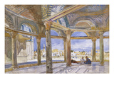 Interior of the Dome of the Chain Looking North, Jerusalem Posters by John Fulleylove