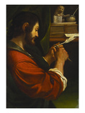Saint Mark Print by Giovanni Francesco Barbieri (Studio of)
