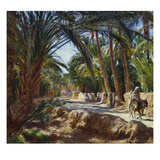 On the Road to Biskra Prints by Emile Friant