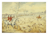 Hunting Scenes: Drawing Cover Giclee Print by Henry Thomas Alken