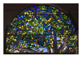 Detail from 'The Danner Memorial' Window by Tiffany Studios Posters