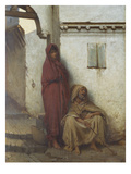 Arab Mendicants Giclee Print by Jean Raymond Hippolyte Lazerges