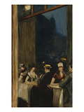 At the Cafe; Im Cafe Giclee Print by Lesser Ury