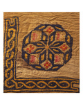 A Coptic Textile Fragment Containing a Medallion with a Corner Border Prints