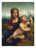 The Madonna of the Yarnwinder Prints by Leonardo de Vinci (Follower of)