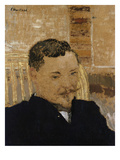 Portrait of Romain Coolus Art by Edouard Vuillard