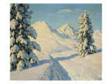 Winter Landscape Prints by Ivan Fedorovich Choultse