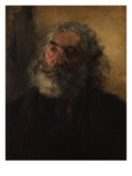Portrait of a Bearded Man Giclee Print by Adolph Menzel