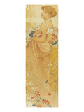 Summer Giclee Print by Alphonse Mucha