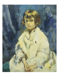 Tink'; Miss Joan Claudia Johnson (Daughter of Johnson, Md of Rolls Royce) Posters by Ambrose Mcevoy