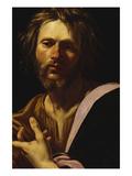 Saint Luke Poster von Simon Vouet