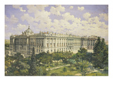 The Royal Palace, Madrid Giclee Print by  Hastoy