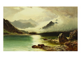 Loch Scavaig, Isle of Skye Giclee Print by Sidney Richard Percy