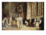 Evensong Giclee Print by Jose Gallegos Y Arnosa