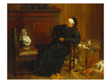 The Connoisseur Giclee Print by Walter Dendy Sadler