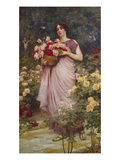 In the Garden of Roses Giclee Print by Richard Willes Maddox