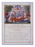 Devises, (Pour Le Roi) Poster