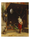 The Arms Market at Cairo; Un Marchand D'Armes Au Caire Giclee Print by Jean Leon Gerome