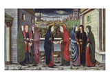 The Visitation Prints by School of Veneto