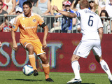 Vancouver, DA August 27 - Brian Ching and Jay DeMerit Photographic Print by Jeff Vinnick