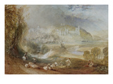 Arundel Castle and Town Prints by J. M. W. Turner
