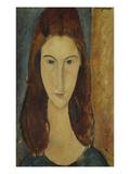 Jeanne Hebuterne Posters by Amedeo Modigliani
