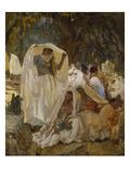 The Day of the Prophet Blidah, Algeria Giclee Print by Frederick Arthur Bridgman