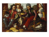 A Poultry Stall Prints by Joachim Beuckelaer (Studio of)