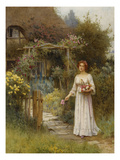 At the Garden Gate Reproduction procédé giclée par William Affleck