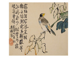 A Page (Bird) from Flowers and Bird, Vegetables and Fruit Giclee Print by Li Shan
