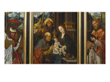 A Triptych: the Adoration of the Magi Prints by Master of 1518 (Attr to)