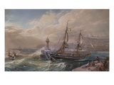 Stormy Weather, Whitby Prints by Samuel Phillips Jackson