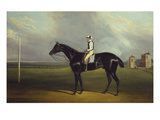 Mr. R.O. Gascoigne's 'Jerry' with B. Smith Up on Doncaster Racecourse Giclee Print by David Dalby of York