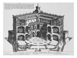 Palazzo Di Caprarola: the Garden of Rome Giclee Print by Giovanni Battista Falda