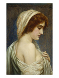 Iphigenia (Daughter of Agamemnon, See Ovid Metamorphoses 12:25-28) Giclee Print by Herbert Gustave Schmalz