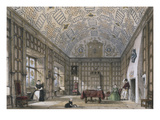 An English Mansion Interior, from 'The Mansions of England in the Olden Time' Prints by Joseph Nash