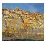Sepulveda, Segovia Giclee Print by Carlos Lezcano