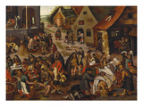The Seven Acts of Mercy Posters by Pieter Bruegel the Elder