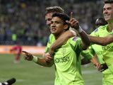 Seattle October 4 - Fredy Montero Photographic Print by Otto Greule Jr
