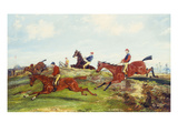 Point to Point Racing Posters by Henry Thomas Alken