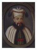 Portrait of the Ottoman Sultan, Suleiman Print
