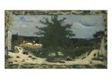 The Sunny Road, Laville Pond; La Route Ensoleillee, L'Etang Laville Poster von Edouard Vuillard
