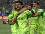 Seattle, WA October 4 - Fredy Montero Photographic Print by Otto Greule Jr