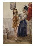 In the Dressing Room Giclee Print by Isaac Israels