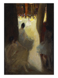 Ballet Girls, Philadelphia Giclee Print by Robert Henri