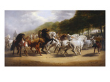 The Horse Fair Poster by John Charles Maggs